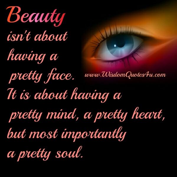 A pretty mind, heart & soul