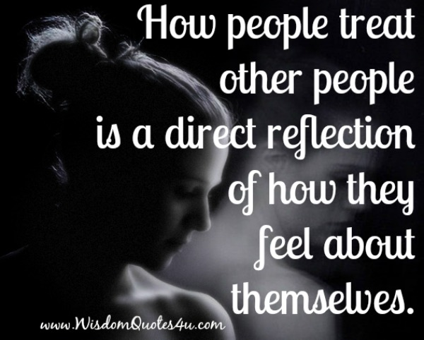 How people treat other people?
