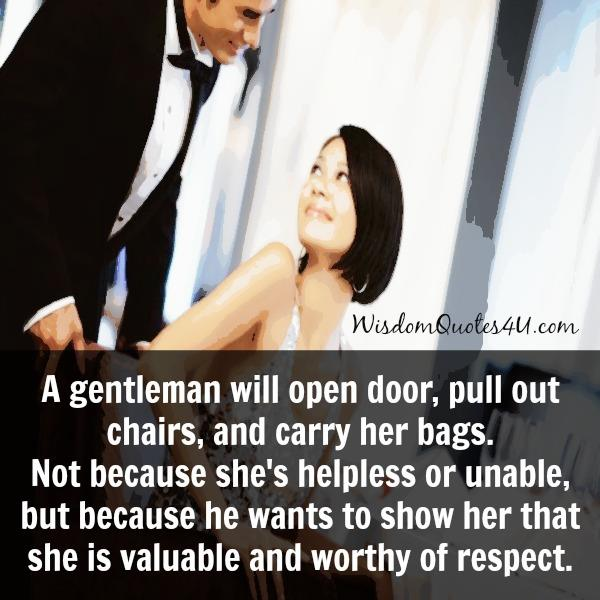 How to know a gentleman?