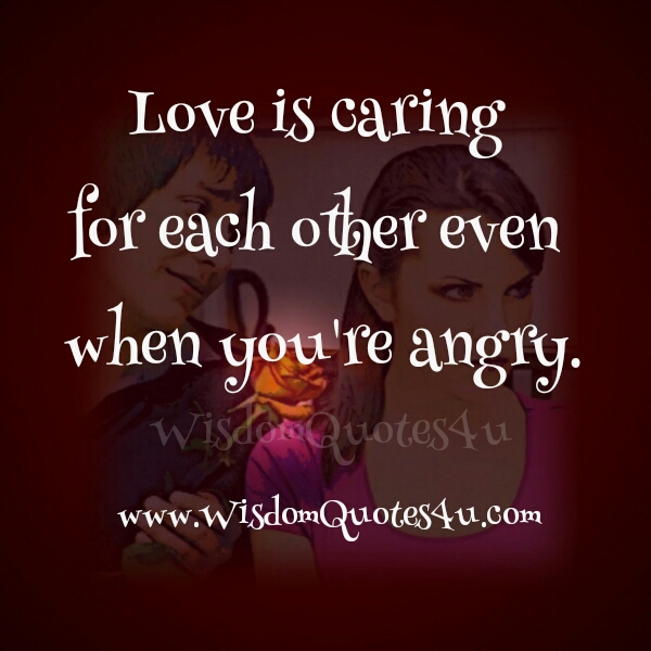 Pics Photos - Love Quotes Love Is Caring For Each Other