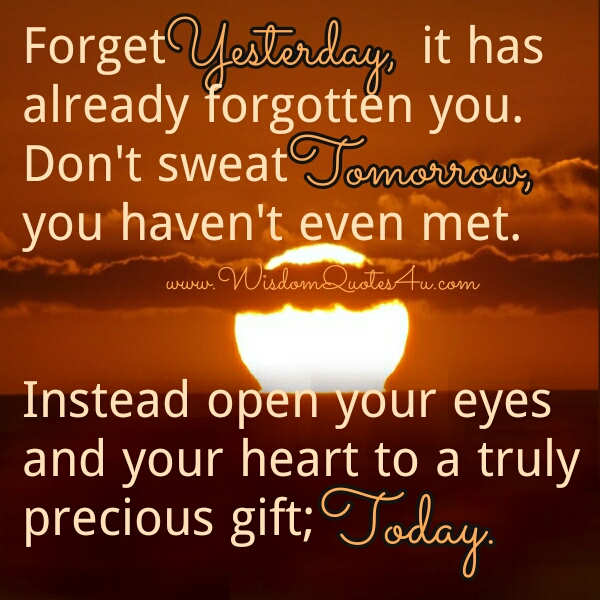 Open your eyes & your Heart to a precious gift