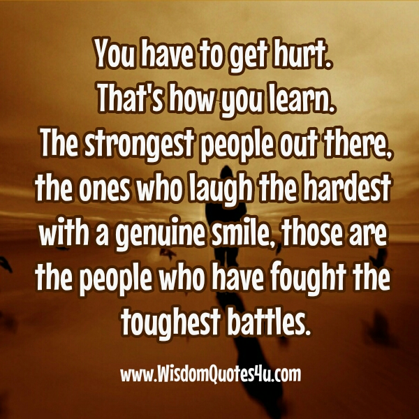 People who have fought the toughest battle