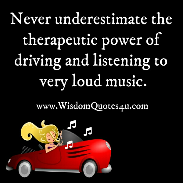 Power of listening to every loud music