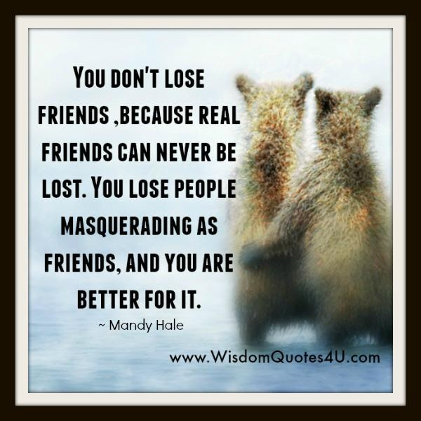 Real Friends can never be lost