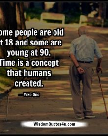 Time is a concept that humans created