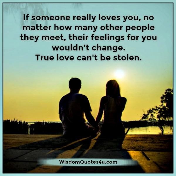 True love can't be stolen