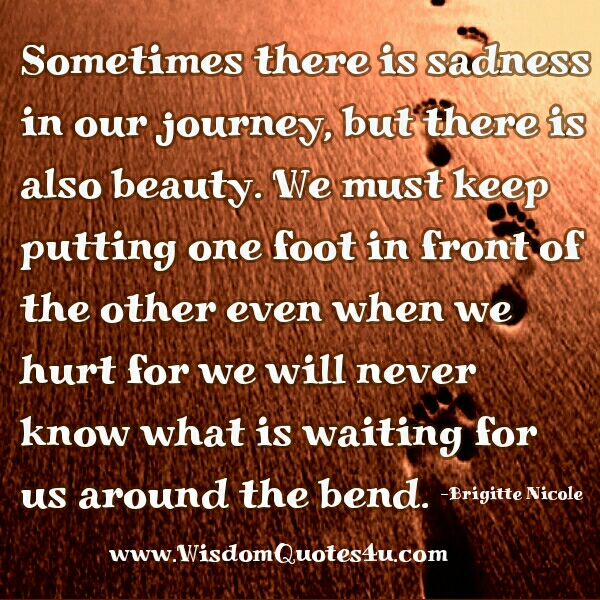 When we are hurt