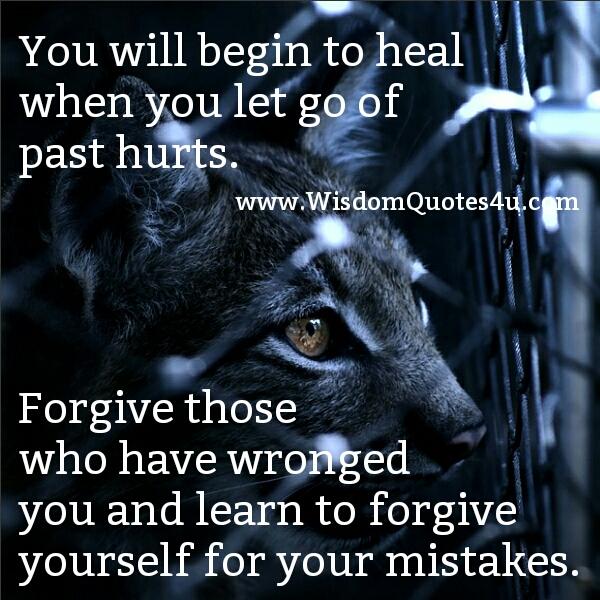 When you begin to Heal
