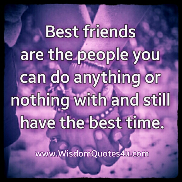 Who are called to be your best friend?